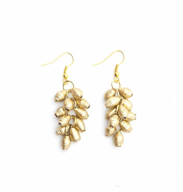 CDG - Charm Drop Earring Gold