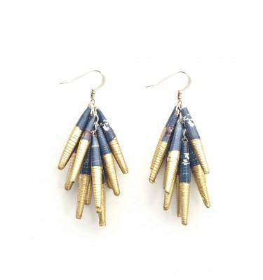 DRG - Drop Earring Half Gold
