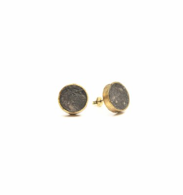 PRS - Pulp Rock Round Stud Earrings