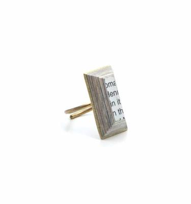 TBR - Tehuti Paper Brass Ring