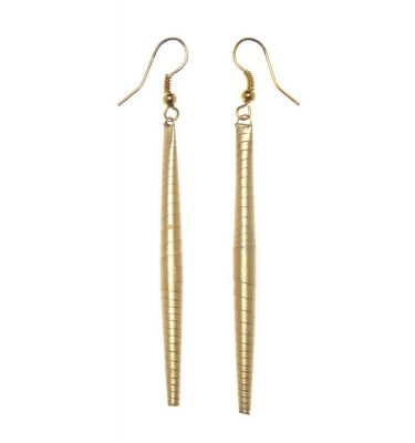 Bead Earring All Gold